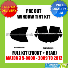MAZDA 3 5-DOOR 2009-2012 FULL PRE CUT WINDOW TINT KIT