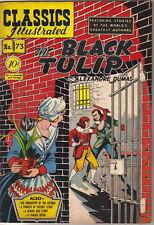 Classics Illustrated Comic Book #73 The Black Tulip, Hrn 75 Edition #1 Fine- 1st