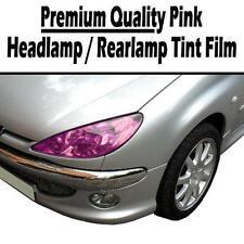 2 x A4 feuilles rose transparent phare voiture feu arrière teinte tinting film