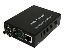 Fiber - Fast Ethernet Media Converter, ST Multimode up to 2KM - 2031