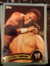 2011 Topps WWE Wrestling BLUE #83 Darren Young #d 1495/2011