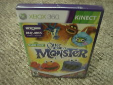 Sesame Street: Once Upon a Monster  (Xbox 360, 2011)