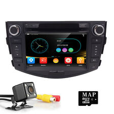 "7"" Car DVD Player GPS Stereo Radio Bluetooth For TOYOTA RAV4 2006-2011 +Camera"