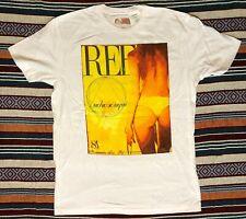 NWOT REEF T-Shirt Tee men's L Large white short sleeve miss billabong quiksilver