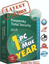 Kaspersky Total Security 1 Devices 1YR - Global - 2019-2020