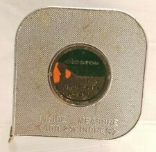 Vintage Disston Carlson 50 ft Super Chief No. 450 Reel Tape Measure