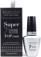 Cuccio Nail Solution - Super 7 Second Reactive Top Coat - 0.43oz/13ml
