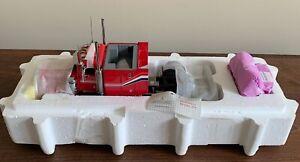 NEW Franklin Mint 1987 Red Peterbilt Model 379 Semi Tractor Truck1:32 B11UB75