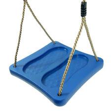 FATMOOSE BaseRider Fußschaukel Schaukel zum Stehen Schaukel-Zubehör blau