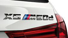 Bmw neuf origine F15 X5 X5M50d série étiquette autocollant chrome badge emblème 8059011