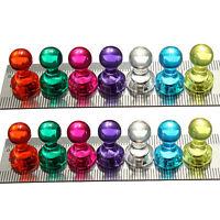 14x Strong Neodymium Noticeboard Skittle Men Pin Magnets Fridge Diy Whiteboard``