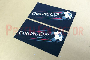 Football League Cup Carling Cup 2010 Final Soccer Patch / Badge