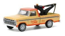 Greenlight 35160-B Blue Collar Collection 1973 Ford F100 Tow Truck 1:64 Scale