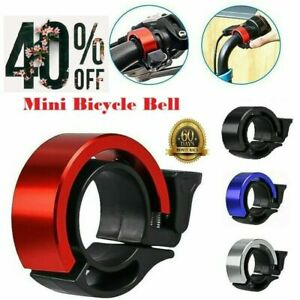 Mini Bicycle Bike Bell Ring Loud Sound Cycling Handlebar Aluminum MTB