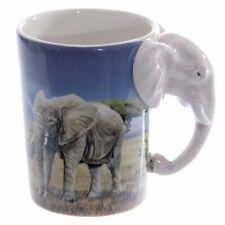 Puckator SMUG21 Mug with Elephant Handle, 8.5 x 11.5 x 10.5 cm