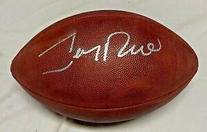 SF 49ers Jerry Rice Signed Wilson Duke Football Auto Fanatics Hologram