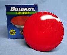 Bulbrite 75PAR30 - Red Halogen 75-Watt Medium Based Red Colored Bulb NIP