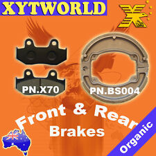 FRONT REAR Brake Pads Shoes for Honda PES 125 PS 125 2006-2009