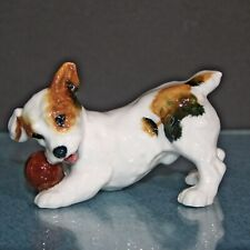 Royal Doulton Jack Russell Puppy with Ball Figurine Hn1103 Excellent