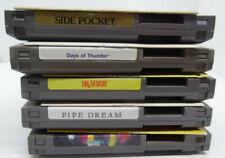 Tetris 2, Pipe Dream, Side Pocket, Days of Thunder, Dr Mario NES W/ Manual