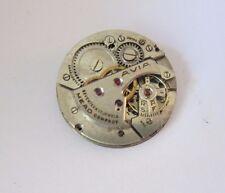 Vintage Boulevard Swiss Avia  Men's Watch movement 17J For Part/repair