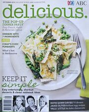 ABC Delicious Magazine September 2013 No 130 Dinners With 7 Ingredients