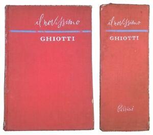 Vocabolario - il novissimo GHIOTTI - italiano/francese