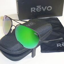 750c6c3c175 Authentic Revo Windspeed Polarized Sunglasses-Matte Black Green Water  RE3087-01