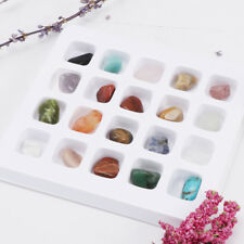 20pcs/Set Rocks and Minerals Collection Earth Science School Teaching Tool