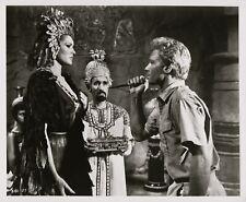 Ursula Andress, Christopher Lee ~ ORIGINAL 1965 scene still... SHE