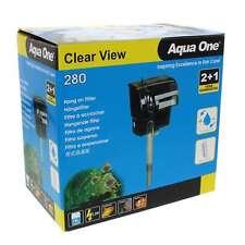 280 Clearview Hang On Filter 300 L/Hr 11527 Fish Tank Aquarium Aqua One