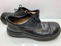 BORN Black Lace Up Comfort Casual Men's Shoes Sz 12 US / 46 EUR