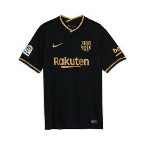 Nike FC Barcelona Trikot 20/21 Größe S M L XL XXL Beflockung Messi Griezmann