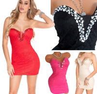 kleid minikleid abendkleid shapeup bodycon cocktailkleid dress pink schwarz l  ebay