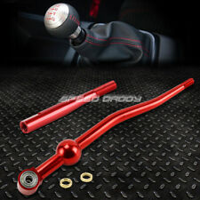 "DUAL BEND T6061 MT RED SHORT THROW SHIFTER+3.5"" EXTENSION KIT FOR CIVIC/EK EG/DC"
