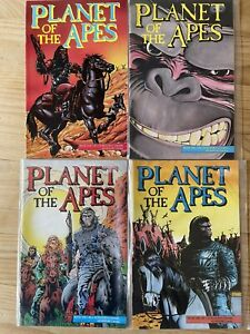Planet of the Apes - Adventure Comics 1990 Book 1 #2,3,6&7 Excellent Condition