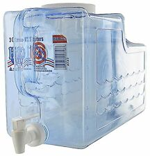 Plastic Beverage Dispenser / Container 3 Gallon for Drinks, Arrow Plastic, NEW