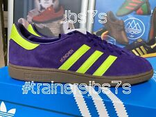 ADIDAS MUNCHEN SPZL 11UK  BNIBWT  SPEZIAL PURPLE AND YELLOW RETRO 2016 MRN MIG @