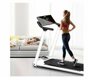 Foldable Home Gym Treadmill Running Machine with LED Display - Cardio Machine..