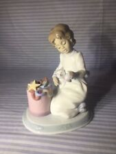 "Lladro Retire Figurine ""Ringing in the Season"" #06671 Night Before Christmas"