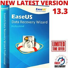 EaseUS Data Recovery Wizard v13.3 / Professional Lifetime License Instant
