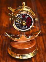 Nautical Shiny Brass Desk Telegraph Anchor Style Brass Telegraph Antique Decor