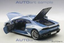 Autoart LAMBORGHINI HURACAN LP610-4 POLICE CAR 2014 in 1/18 Scale New! In Stock!