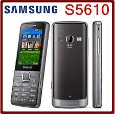 Original Unlocked Samsung S5610 Bluetooth 5MP 3G GSM MP3 Player Mobile Phone 2.4