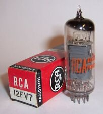 NEW IN BOX RCA 12FV7 TWIN TRIODE TUBE / VALVE