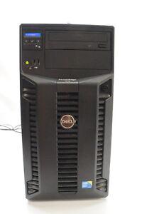 Dell PowerEdge T310 Tower Server 8GB RAM X3450 2.66 GHz 4TB Service Tag DTFXLS1
