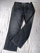 BENCH Damen Blue Jeans Denim Marlene W26/L32 low waist loose fit wide leg