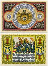 Osnabrück, 1 apariencias Notgeld 1921, escudo de armas, Olle use, 75 penique