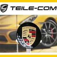 ORIG. Porsche 911 718 Cayenne Panamera Radzierdeckel konkav schwarz hochglanz
