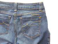 Womens DKNY SOHO Boot Cut Denim Blue Jeans Size 6 Actual 32x33